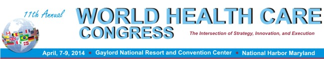 World Healt Care Congress 7-9 April 2014