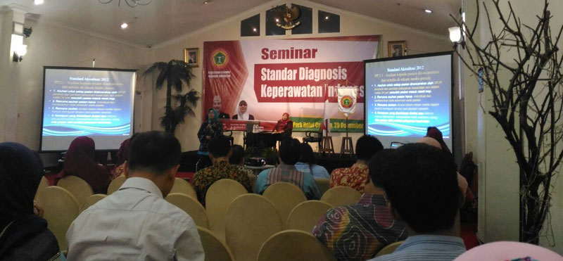Seminar dan Launching Buku Standar Diagnosis Keperawatan Indonesia